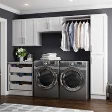 w white laundry cabinet kit