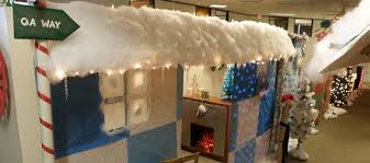 office cubicle christmas decoration. Credit Image. Cubicle Christmas Decorating Ideas Office Decoration I