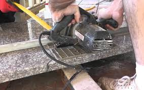 how to install granite countertops on a budget part 3 cut fit with a circular saw