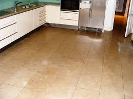 Stone Tile Kitchen Floors Kitchen Fair Kitchen Decoration With Soft Brown Tile Kitchen