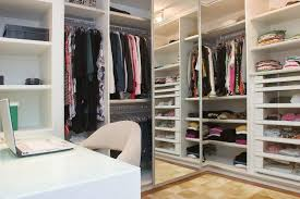 home office in a closet. Closet Home Office. Desk In A Hawthorne Wardrobe Instant Office Design