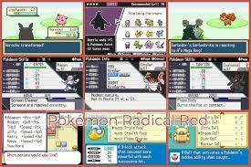 Pokemon Radical Red v2.0 released!! Mons from Gen 1-8, Raid battles, new  Mega Evos, and more! : PokemonROMhacks