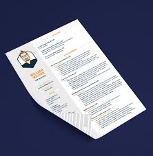 Prepossessing Print Resume Double Sided Also Resume Design  Abbie Crane  Graphics