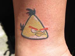 Angry Bird Tattoo