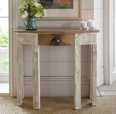 beautiful light oak console table with wonderful small half moon for small half moon table prepare