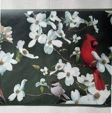 Birds Wallpaper Border - Cardinal ...