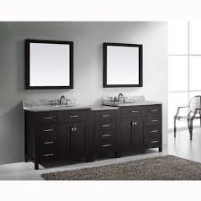Bathroom Vanity Double Beauteous The 48'' Caroline Parkway Double Sink Bathroom Vanity Offers A Clean