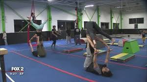 we have people from 5 years old to 65 years old that are yoga instructors that e here do parkour it s really about adapting to wver you can do