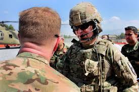 u s department of defense photo essay  u s army brig gen christopher bentley left the commander of train advise