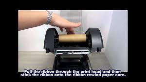 <b>TSC</b> TTP-247/345: Loading the ribbon - YouTube