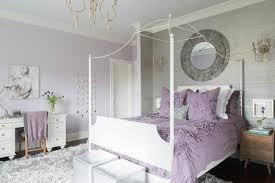 Purple Bedroom Simple Decorating Design