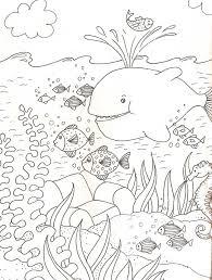 Onderwaterwereld Kleurplaat Google Zoeken 10 Kleine Visjes