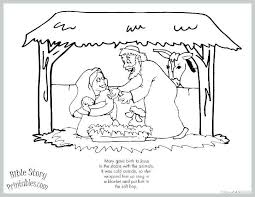 Nativity Story Coloring Pages Printable Story Coloring Pages Good
