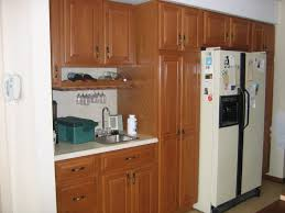 Wood Veneer Cabinet Doors Anyone Paint Oak Cabinetsand Regret It