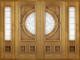 empress double front doors with sidelights frame