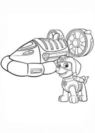 Paw Patrol Coloring Pages To Print Zuma The Art Jinni