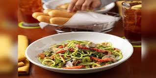 zoodles officially on the olive garden
