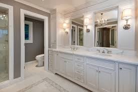 Master Bath in White Traditional Bathroom San Francisco by