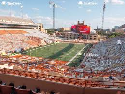 Darrell K Royal Stadium Seating Chart Your Ticket To Sports Concerts More Seatgeek