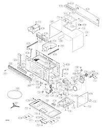 Sharp model r 1505 microwave hood bo genuine parts
