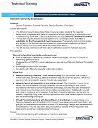 Network Security Engineer Resume Sample Resume Examples