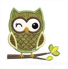 Owl Birthday Applique Design Owl Applique Boy V2 On Branch Machine Embroidery Design 2