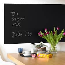 Kitchen Chalkboard With Shelf Teapot Blackboard Wall Sticker Kitchen Wall Decor