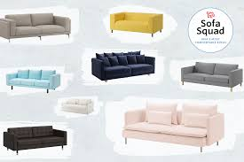 Most Beautiful Sofa Designs The Best Most Comfortable Ikea Sofas Apartment Therapy
