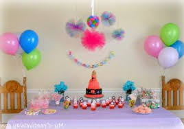 simple decoration ideas for birthday party at home birthday
