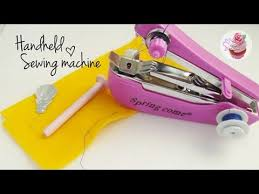 How To Use Portable Handheld Sewing Machine