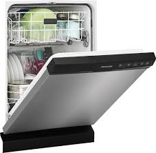 Silverware Dishwasher Frigidaire Ffbd2412ss Full Console Dishwasher With Spacewise