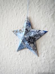 Diy Weihnachtsdekosterne Aus Papier Falten Sternenwind Blog