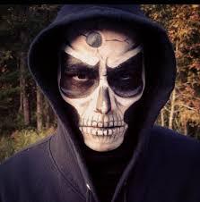 grim reaper skull makeup skull makeup jessicamakeup makeup ideas