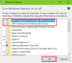 fix missing net framework on windows