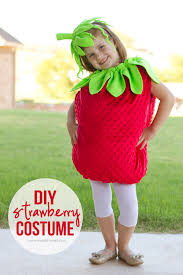 Diy Strawberry Costume Make It And Love It