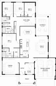 one story floor plans with wrap around porch 4 bedroom house plans home designs