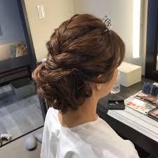 ウエディングヘアスタイル Instagram Posts Gramhanet