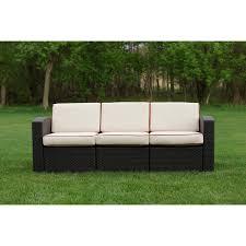 strata furniture cielo patio wicker sofa birch lane website logo birch lane home