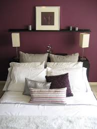 Purple And Cream Bedroom Paint Color Bedroom Accent Wall Rest Of It Grey Or Tan Bedroom
