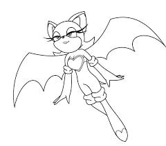 Rouge The Bat Coloring Pages Coloring Pages Ideas Bat Coloring