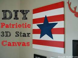 patriotic wall decor red white and blue patriotic star art in 4 easy steps patriotic outdoor on patriotic outdoor wall art with patriotic wall decor red white and blue patriotic star art in 4 easy