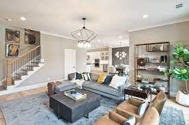 decorate your open concept floor plan