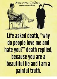 Awesome Quotes Beauteous Awesome Quotes WwwAwesomequotes48ucom Life Asked Death Why Do People