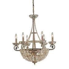 elizabethan 10 light dark bronze ceiling mount chandelier