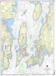 Noaa Bathymetric Charts Noaa Nautical Chart 13223 Narragansett Bay Including