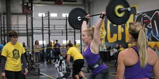 crowds gathered at crossfit function in yorkton to watch 40 teams go head to head in weightlifting rowing gymnasticore