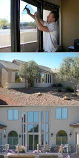 home office window tinting tinted