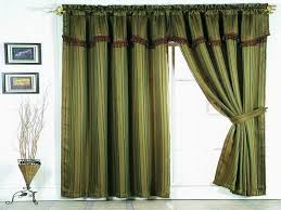 window curtain design ideas simple green
