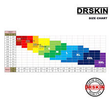 Drskin Compression Size Chart Dr Skin Compression Tights Base Layer Running