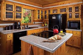 kitchen best stunning countertops and backsplash gray color quartz granite countertop brown wooden cabinets built in nice types kitchen